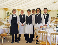Hog Roast Event Staff
